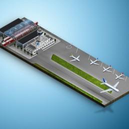 система безопасности аэропорт